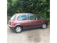 Cheap low mileage micra,48000 miles,one years mot.