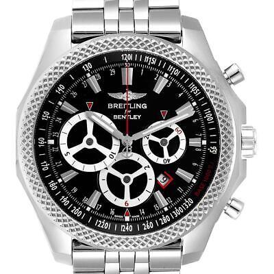 Breitling Bentley Barnato Racing Black Dial Mens Watch A25366