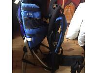 Kelty elite hiking baby carrier backpack