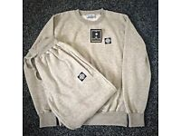 Square Badge Stone Island Jumper Tracksuit Set