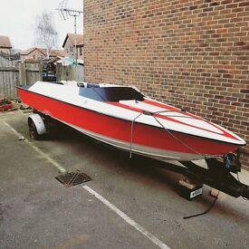 Speed boat- no engine