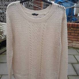 Ladies casual jumper size 12 select