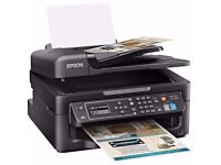 Epson WF-2630 Four-in-One for the Small Printer Wi-Fi and AirPrint (Print/Scan/Copy/Fax)