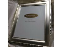 "Brand new 8"" x 10"" silver plated photo Frame"