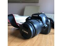 Canon EOS 1100d with LENS