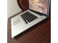 MacBook Pro 17-inch,Mid 2010 ( NEW SSD SAMSUNG 500GB HARD DRIVE)