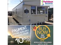Static Caravan For Sale SITE FEES INCLUDED UNTIL 2019 12 Month 4 Star Park Sea Views North West