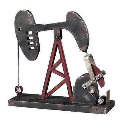 Oil Rig Well Pump Accessory Industrial Decor Oil Field Art Statue Gas Petroleum
