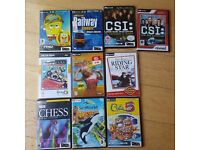10 PC CD rom games bundle