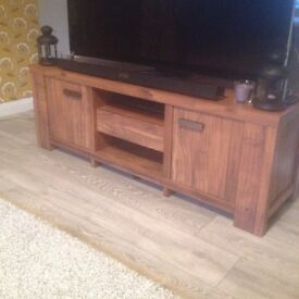 Next Havana tv unit and phone table