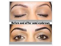 MARCH OFFER! RUSSIAN 3D £50, INDIVIDUAL MINK EYELASHES £40, MICROBLADING £70, SEMI PERMANENT MAKEUP