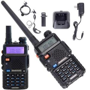 2 PCS BAOFENG UV 5R VHF/UHF 136-174/400-480 MHzFM DualTwo Way Radio Talkie 2 X - BRAND NEW - FREE SHIPPING