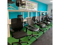 NOW OPEN, OFFICE FURNITURE CHAIRS FROM £20