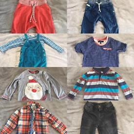 Hundreds of baby boy/toddler clothes for sale