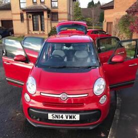 FIAT 500L MPW, SEVEN SEATER,£20 Road Tax. AUTOMATIC