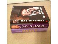 4 Autobiographical books hardback