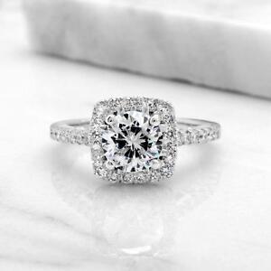 AFFORDABLE ENGAGEMENT RING WITH A 1.25 CARAT DIAMOND / BAGUE DE FIANCAILLE ABORDABLE AVEC DIAMANT DE 1.25 CARAT /