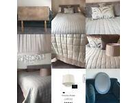 Premium bedroom bundle including DOUBLE headboard