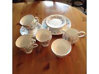 Wedgwood Mist Rose tea set