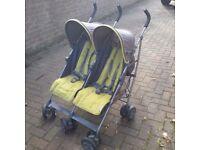 Mamas and papas Kato Double Stroller Buggy