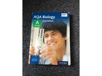 AQA a level biology textbook for Year 1 and 2