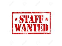 LEAFLETING STAFF WANTED