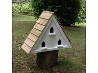 Wall mounted dovecote bird house nest box feeder