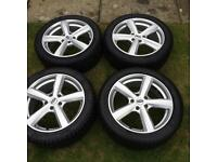 4 Winter Tyres and Alloy wheels