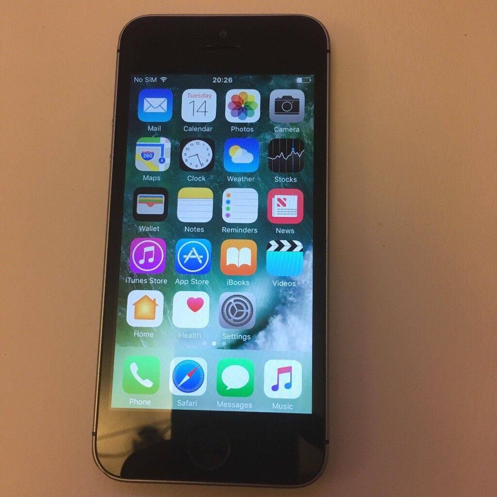 iphone se 16gb space grey 16gb vodafone lebara network pristine condition like new!!!