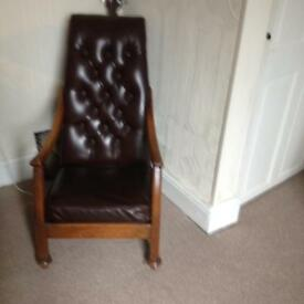 Stunning Antique nursing chair