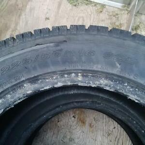 p225 50 R16 winter tire Kitchener / Waterloo Kitchener Area image 2