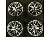 Boston 18 inch alloy wheels & tyres suit bmw 3 5 series also suit Vauxhall Insignia VW Transporter