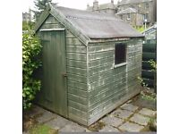 8 X 6 ft shed
