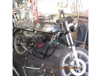 1983 yamaha xs850g spares reapair project