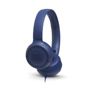 JBL Tune 500 Powerful Bass On-Ear Headphones with Mic (Black) at VALENTINE SALE