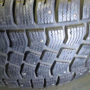 2 GOODYEAR AVALANCHE EXTREME WINTER 275/55R20 TIRES 95% TREAD