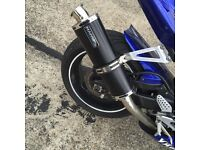 Yamaha r1 5pw may fit other years mint condition hawk exhaust