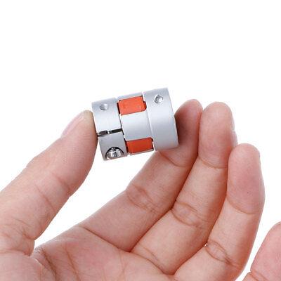 5mm X 8mm X 25mm Cnc Stepper Motor Flexible Plum Jaw Shaft Coupling Coupler