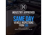 Vehicle Inspections From £85