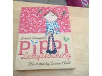 Hard backed boxed editions of Pippi Longstocking