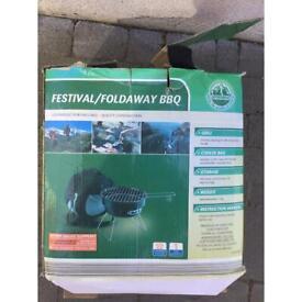 Festival foldaway bbq