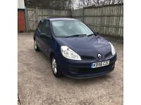 Renault clio 2007 56 plate 1.4 petrol 3 door