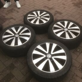 VW ALLOYS FOR SALE FOR GOLF £200