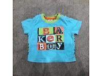 Baby boys 0-3 months Ted Baker designer tshirt top