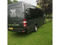 Hire a Minibus with driver From Trusted Birmingham Based Company call on 01217692707
