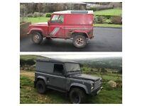 Land Rover Defender Rebuild / Refurbishment
