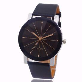 Women's Watches Leather Stainless Steel Quartz Wrist Watch