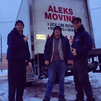 519-991-3118/FREE ESTIMATES -FLAT RATES -ALEKS MOVING INC.