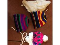 Job lot baby hats (50 hats)