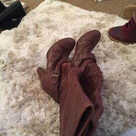 Topshop women's boots size 4